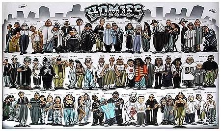 Homies Family Poster