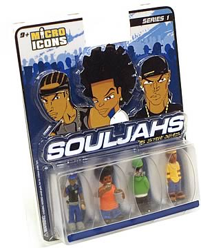 Micro Icons Souljahs Series 1 Case