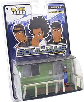 Micro Icons Souljahs Environments Series 1 Case