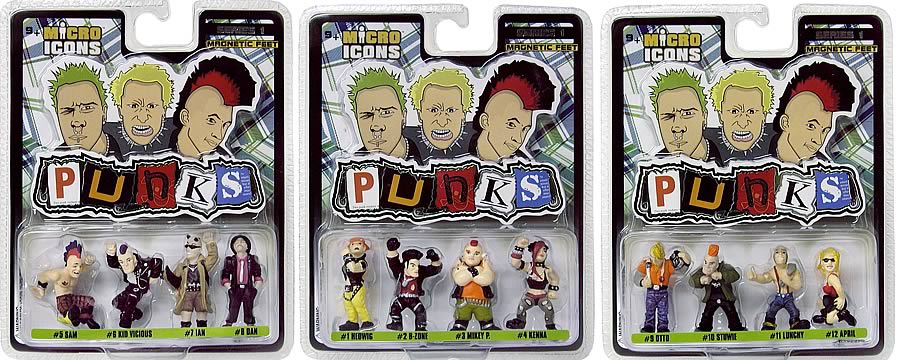 Micro Icons Punks Series 1 Case