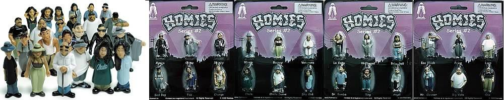 Homies Series 2 Complete Set