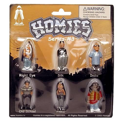 Homies Series 3 Set