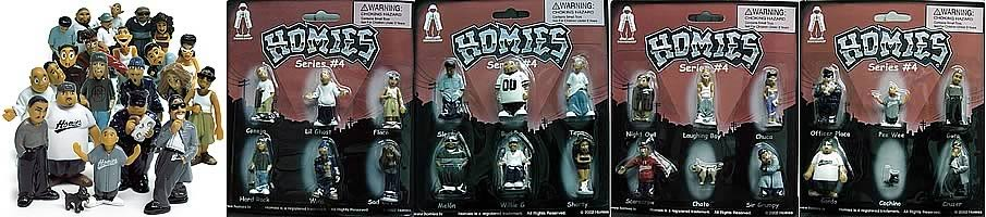 Homies Series 4 Complete Set