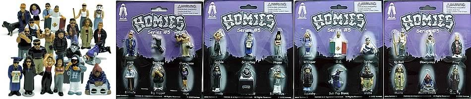 Homies Series 5 Complete Set