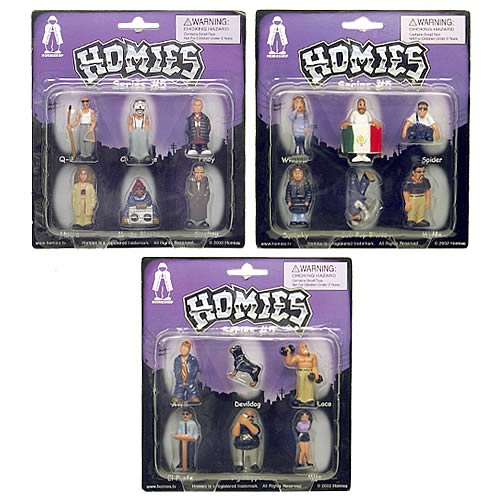 Homies Series 5 Set