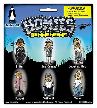 Homies Mini Bobble Heads Series 2