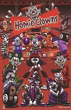 Homie Clowns Poster