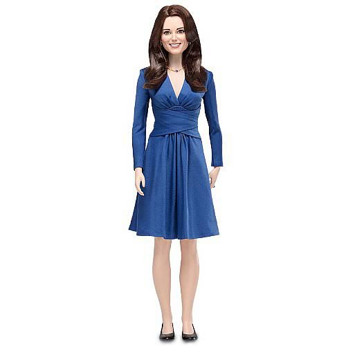 Kate Middleton Royal Engagement Vinyl Portrait Doll