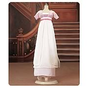 Titanic White and Lilac Dress Outfits