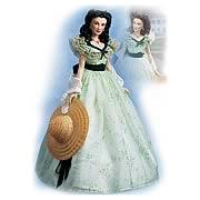 Gone with the Wind Scarlett Twelve Oaks Vinyl Doll