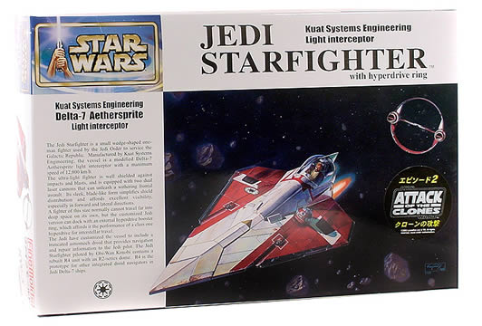 Fine Molds Jedi Starfighter