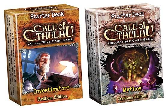 Call of Cthulhu CCG Mythos Starter Case