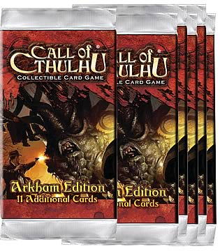 Call of Cthulhu CCG Booster 6-Pack