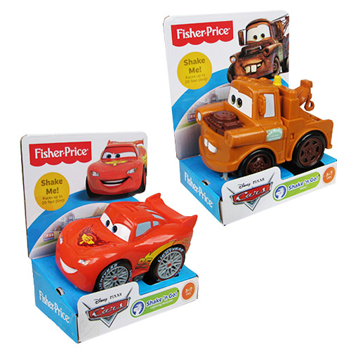 Pixar Cars Shake And Go Racers Set