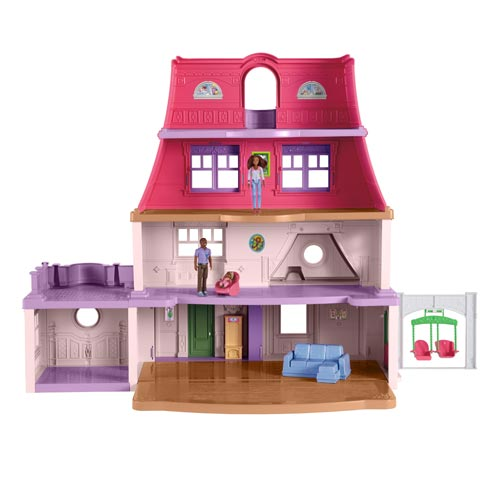Fisher-Price African American Family Dollhouse Playset