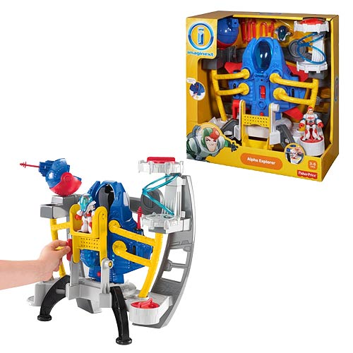Imaginext Alpha Explorer Space Shuttle Playset
