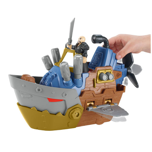 Imaginext Pirate Shark Boat