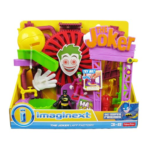 Batman Imaginext Joker Laff Factory Playset