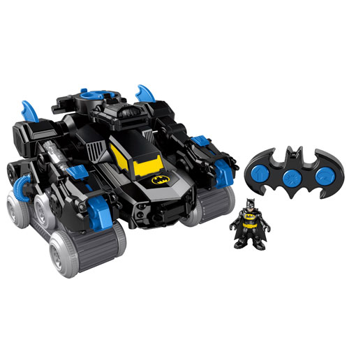 Batman Imaginext Transforming Batbot RC Vehicle