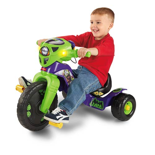 Teenage Mutant Ninja Turtles Lights and Sounds Ride-On Trike