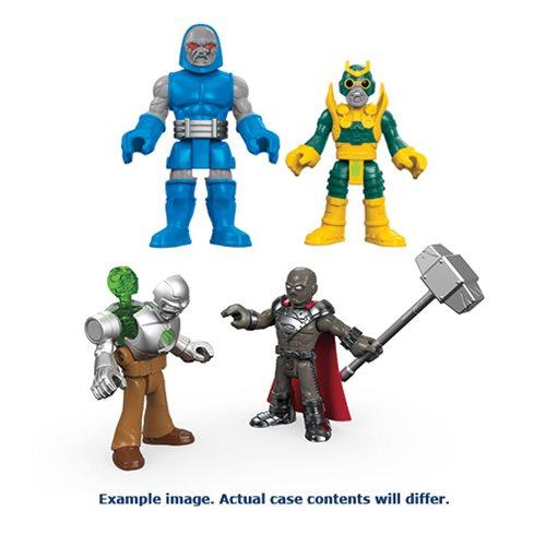 DC Super Friends Imaginext Battle Arena Action Figure Case