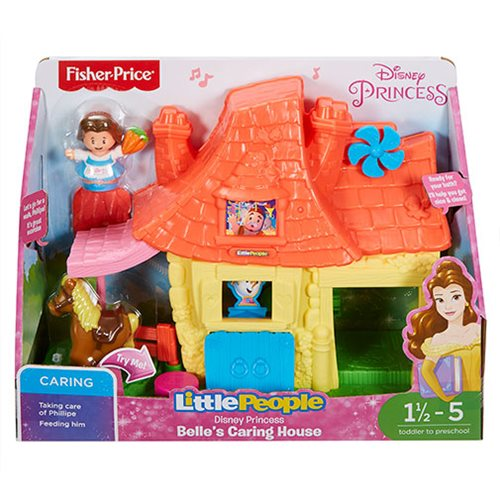 Beauty and the Beast Little People Belle's House Playset