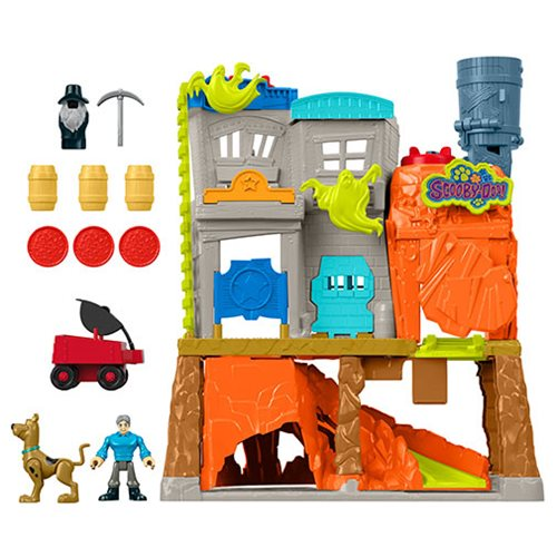 Scooby-Doo Imaginext Ghost Town Playset