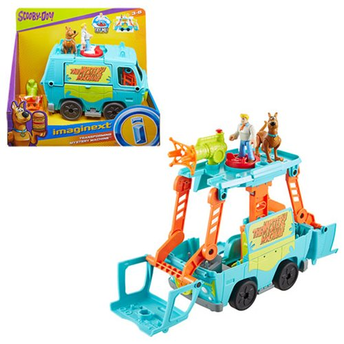 Scooby-Doo Imaginext Transforming Mystery Machine Playset