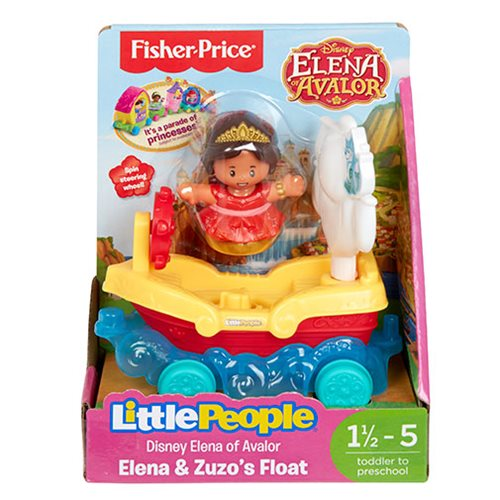Elena of Avalor Little People Parade Elena and Zuzo Float
