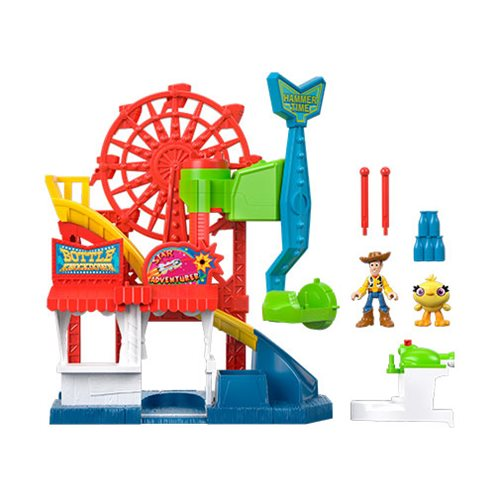 Toy Story 4 Imaginext Carnival Playset