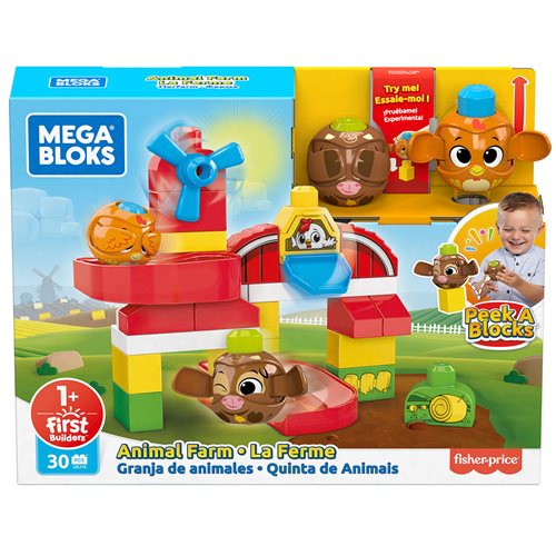 Mega Bloks® Peek A Blocks Animal Farm