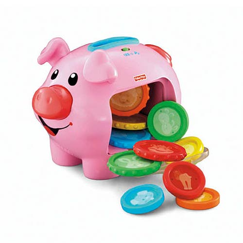 Laugh and Learn Learning Piggy Bank