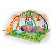 Rainforest-Themed Melodies and Lights Deluxe Baby Gym