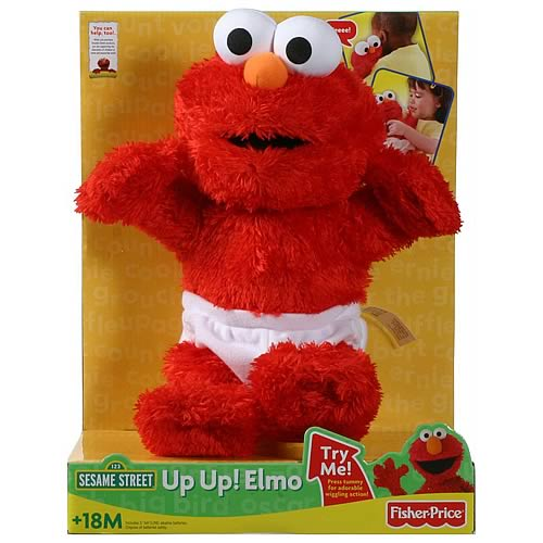 Sesame Street Up Up Elmo Plush Doll