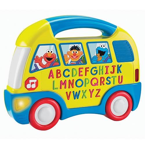 Sesame Street Elmo Alphabet Bus