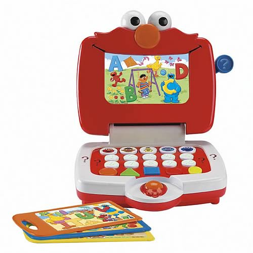 Sesame Street Elmo Learning Fun Laptop