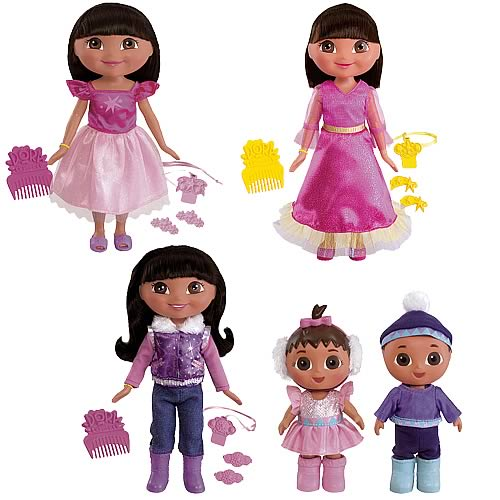 Dora the Explorer Saves Snow Princess Dolls Case