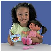 Dora the Explorer Bedtime Sleepy Dreams Dora Doll
