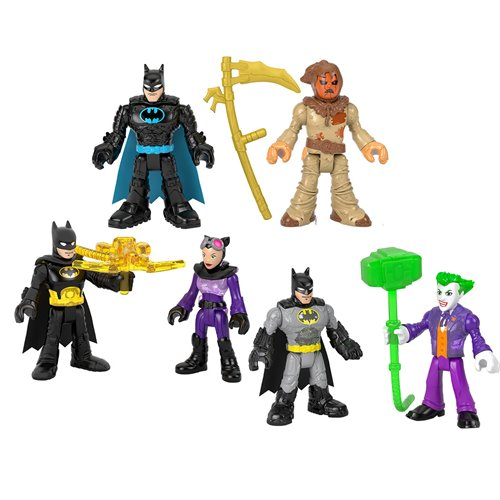 DC Super Friends Imaginext Adventures Figures Case