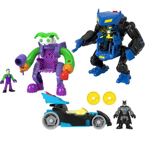DC Super Friends Imaginext Figure and Vehicle Case