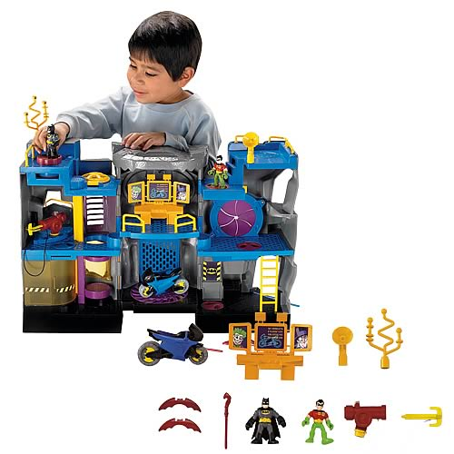 DC Superfriends Imaginext Bat Cave Playset