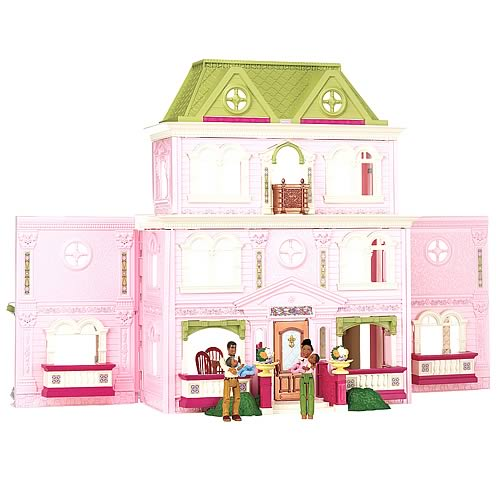 Loving Family African American Grand Dollhouse Playset