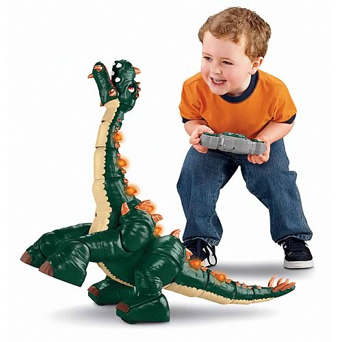 Imaginext Spike the Ultra Dinosaur RC Toy