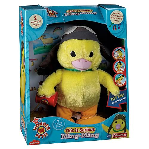 Wonder Pets Ming-Ming This is Serious Singing Plush