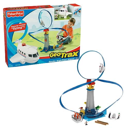 Geotrax GeoAir High Flyin Airport Playset