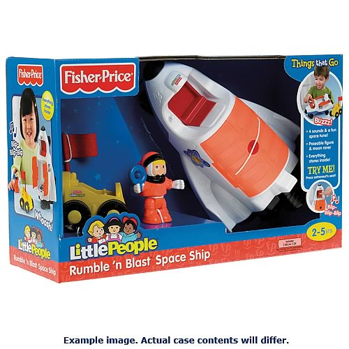 Imagination Toys For Boys : Little people boys imagination vehicle and figure case