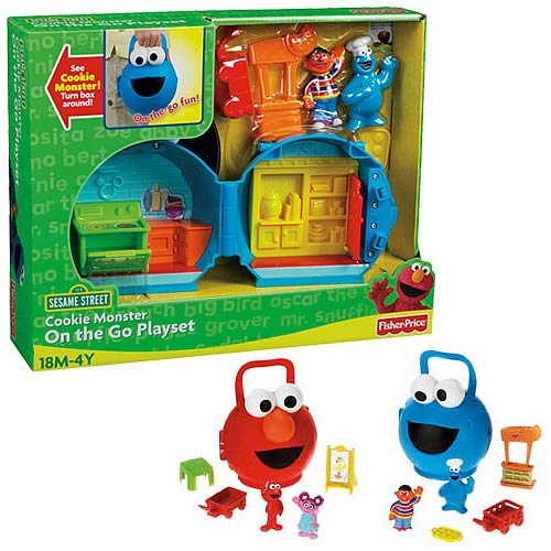 Sesame Street Surprise On-The-Go Playset