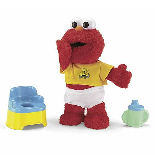 sesame street potty time elmo plush - fisher-price - sesame street