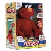 Sesame Street Elmo Live! Encore Plush