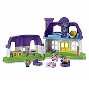 Little People Happy Sounds Home Playset